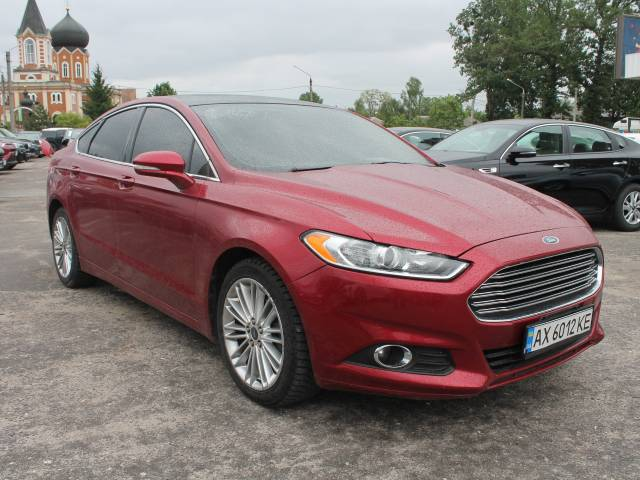2016 Ford Fusion 4X4